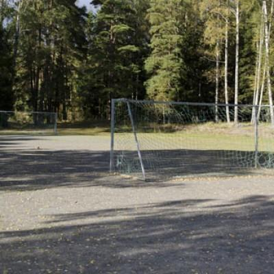 Das Gelände des Gruppenhauses Lunde in Norwegen.