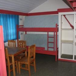 Die Zimmer im Gruppenhaus Lunde in Norwegen.
