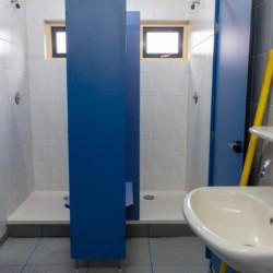 Duschen im Freizeitheim Doevehuis in den Niederlanden