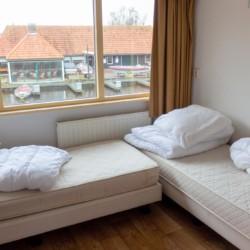 Schlafraum im niederländischen Freizeitheim Doevehuis
