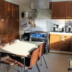 noom5k1 Gruppenküche in norwegischem Freizeitheim Omlid