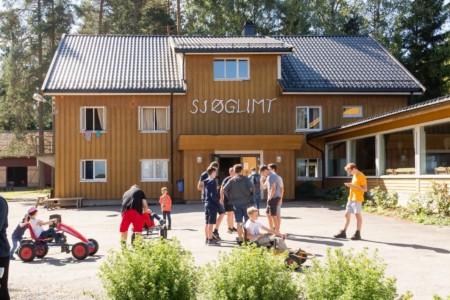 Das Freizeitheim Sjöglimt in Norwegen.