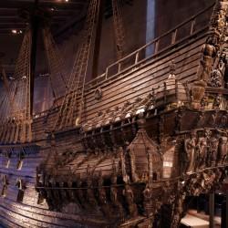 Das verskunkene Schiff ist im Hafenbecken Stockholms komplett geborgen und wirklich eine Sensation! © Ola Ericson/imagebank.sweden.se