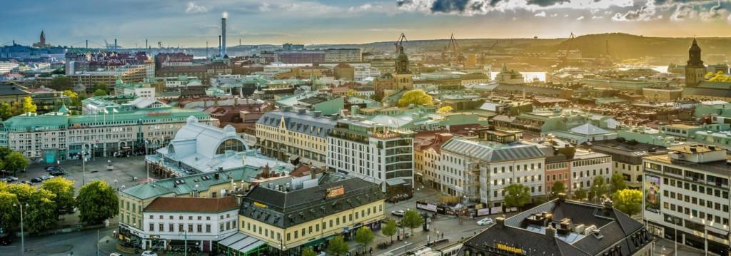 Göteborg ist von vielen schwedischen Freizeitheimen zu erreichen.
