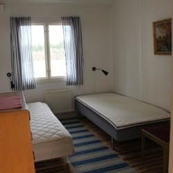 Die Zimmer im Gruppenhaus Ängskär in Schweden.