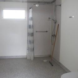 Die Sanitäranlage im Gruppenhaus Ängskär in Schweden.