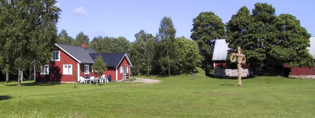 Das Freizeithaus Vallsnäs Unnaryd Camp in Schweden am See.