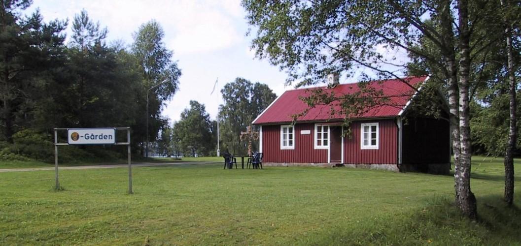 Das schwedische Freizeithaus Vallsnäs Unnaryd Camp für Zeltfreizeiten.