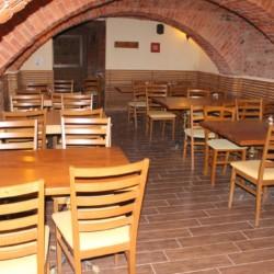 Der Speisesaal im slowenischen Gruppenhaus Ljtomer.