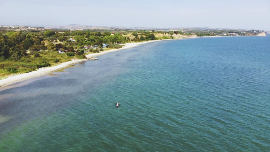 GRC1 Strand am griechischen Feriencamp für Jugendfreizeiten direkt am Mittelmeer