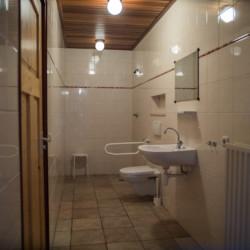 Barrierefreies Badezimmer im Gruppenhaus Rowaldhoeve