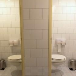 WC im niederländischen Gruppenhaus Nieuwe Brug
