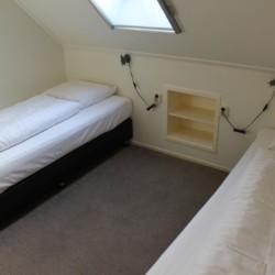 Doppelzimmer im Freizeitheim Nieuwe Brug in den Niederlanden.