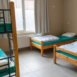 Ein 2-4bettzimmer im behindertengerechten Gruppenhaus Kievitsnest in den Niederlanden.
